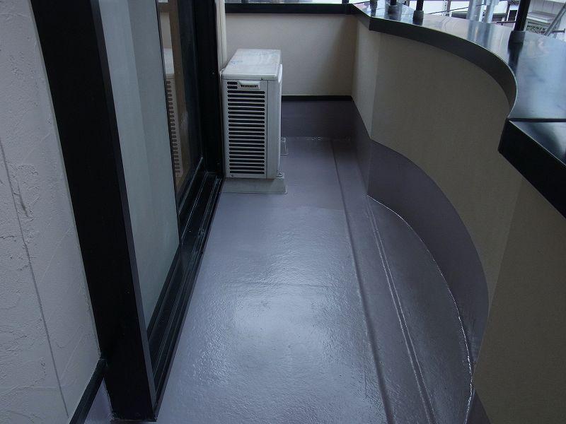 FRP防水塗り替え工事 完成