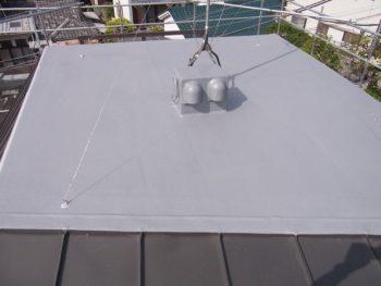 屋根のFRP防水 施工後