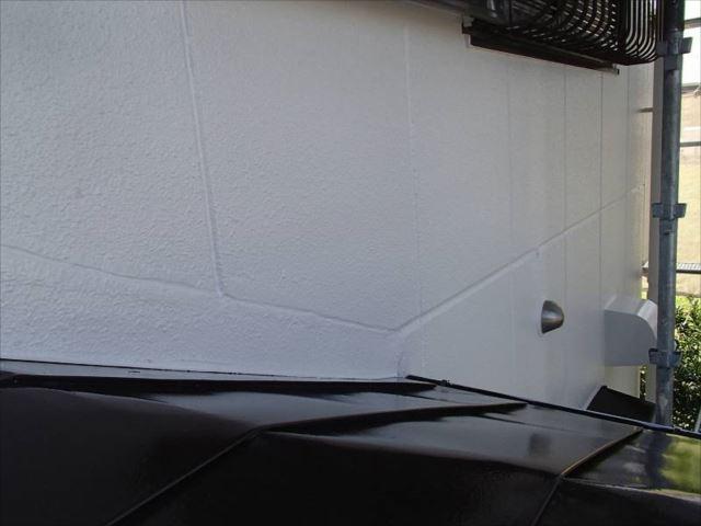 雨漏り箇所もしっかり補修行い綺麗に仕上がりました。