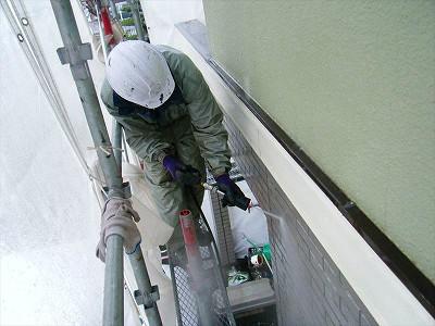 外壁塗装T様邸水洗い