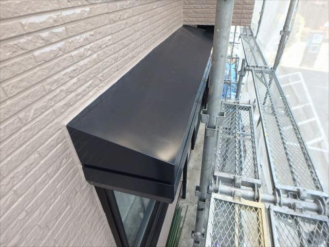 外壁塗装S様邸外壁アフター(シャッターボックス)