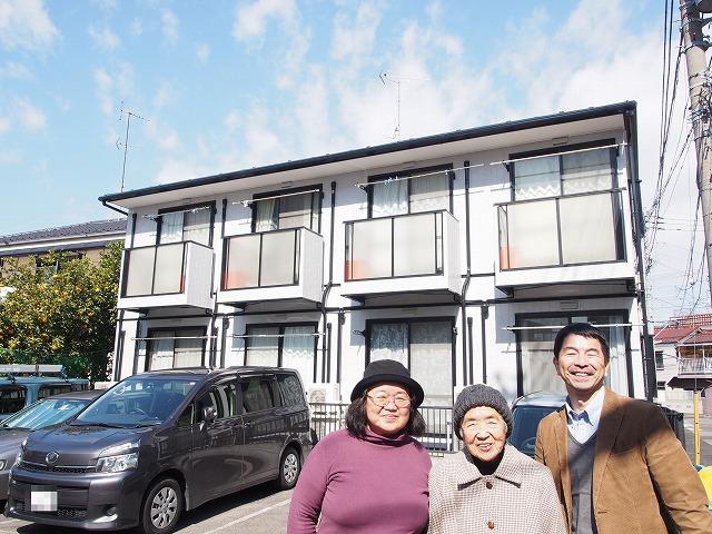 川崎市 Pアパート様の声(2015年2月21日 完工)