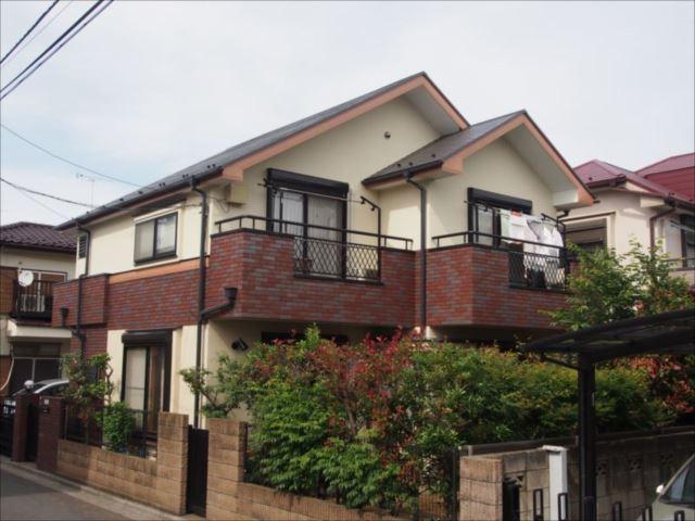 三鷹市 K様邸 外壁・屋根塗装事例
