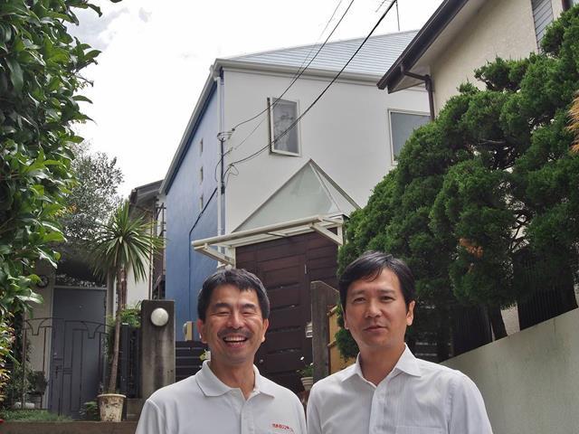 世田谷区K様邸外壁塗装