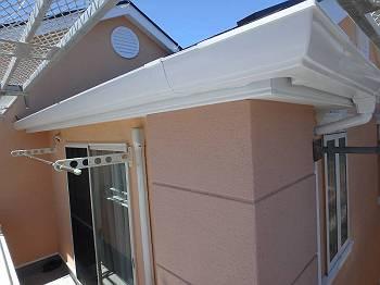 外壁塗装H様邸最終チェック雨樋