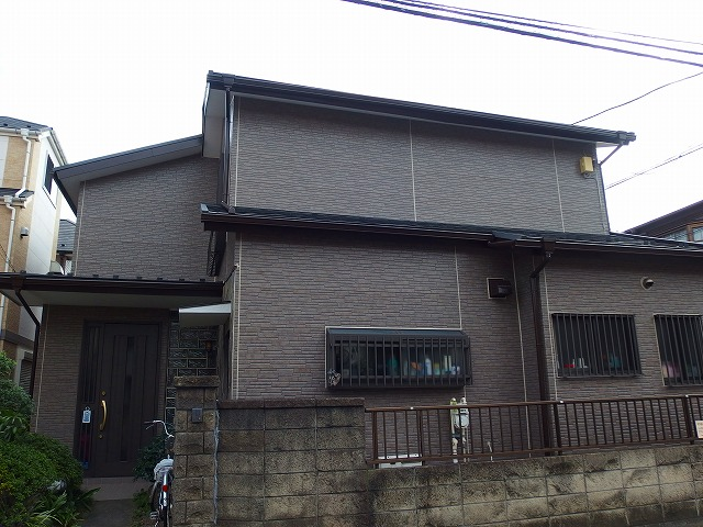 横浜市Y様邸外壁塗装