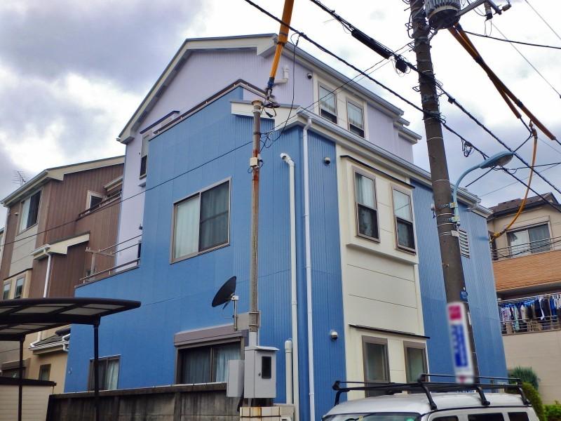 T様邸外壁塗装 施工後