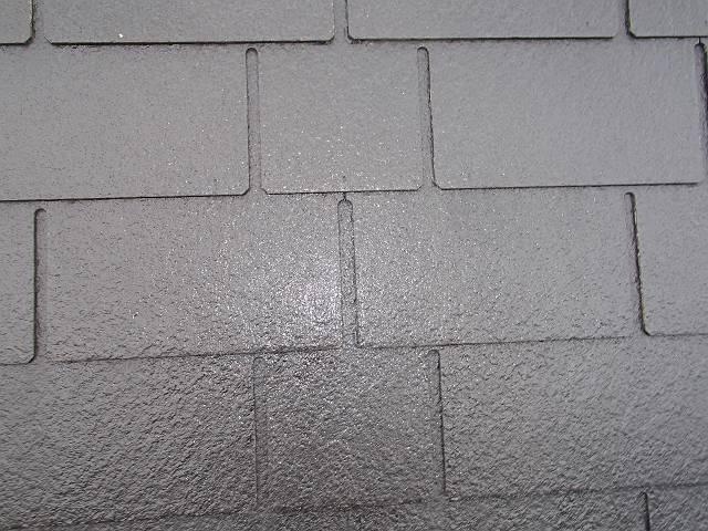 下塗り後屋根
