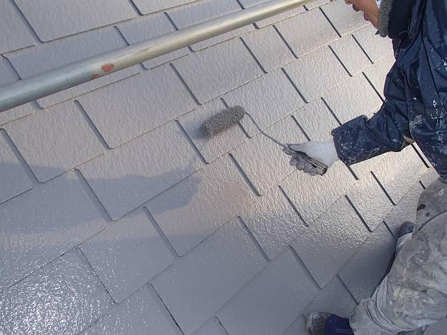屋根上塗り エスケー化研クールタイト(グレー)