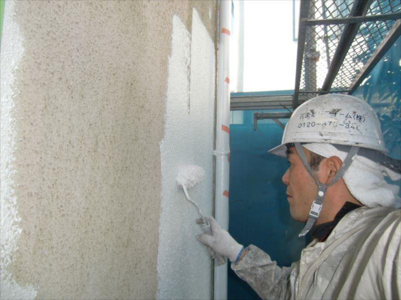 20170215外壁塗装T様邸外壁1下塗りCIMG5970_s