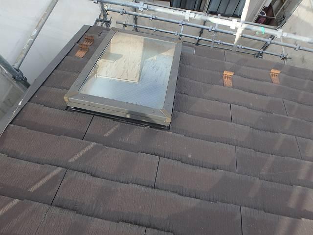 施工前 屋根 天窓