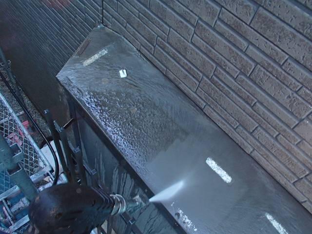 出窓屋根洗浄