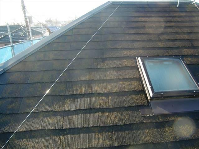 高圧洗浄 屋根 ビフォー