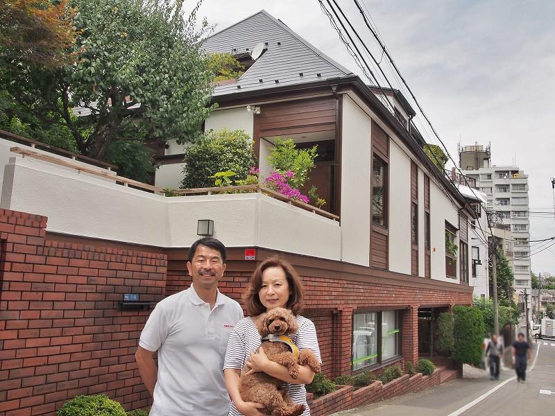 大田区A様外壁塗装完成記念