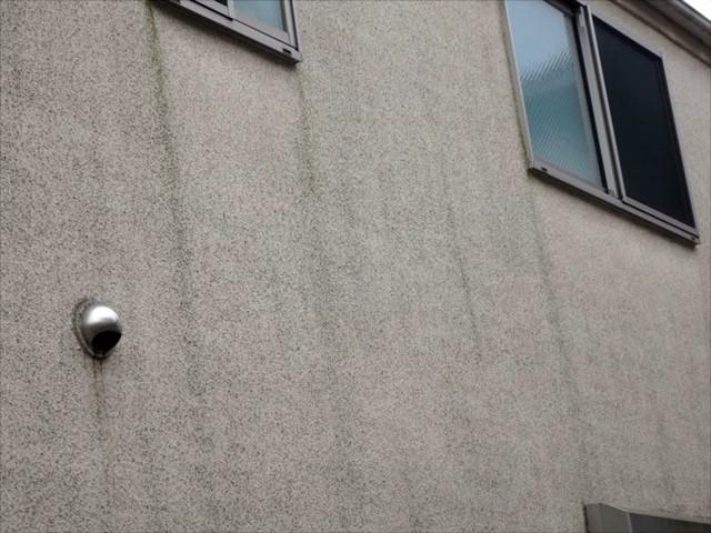リシン外壁の艶感と撥水