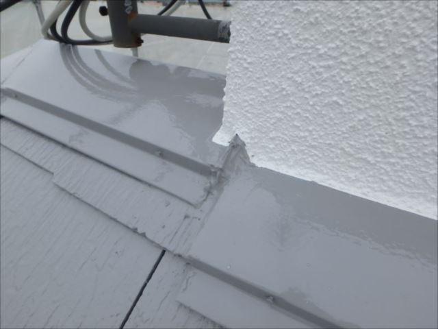 雨漏りの原因だった部分もしっかり補修。これで安心!