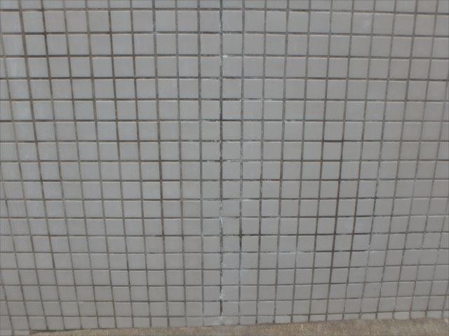 エフロレッセンスで白い汚れが付着していた外塀。かなり綺麗になりました。