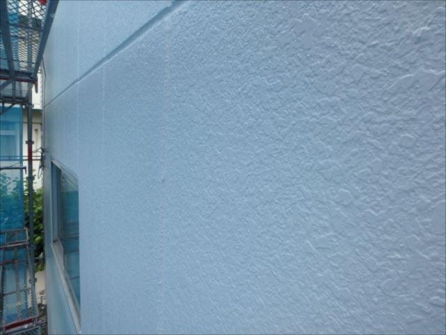 綺麗に塗装された外壁。柔らかな艶がとても上品です。