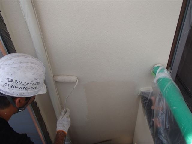 中塗り・上塗りには「アートフレッシュ」という艶消し塗料を使用しています。