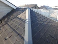 屋根です。特に問題は有りませんがこちらもきれいに塗っていきます。