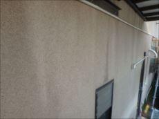外壁は汚れが付着している程度です