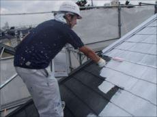 屋根塗装下塗り (快適サーモシーラー)
