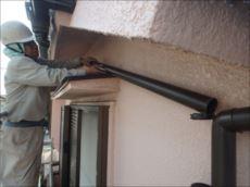 今回は人気のPanasonic製の雨樋を取付けました。