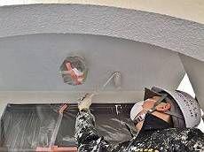 軒裏も外壁塗料と同様に塗装