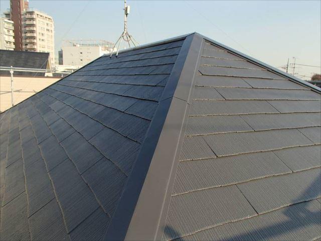 遮熱塗料「クールタイト」で蘇った屋根。