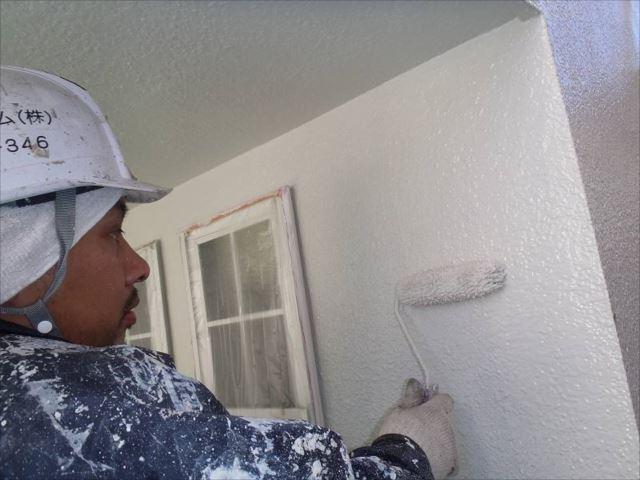中塗り・上塗りには「クリーンマイルドウレタン」を使用しています。