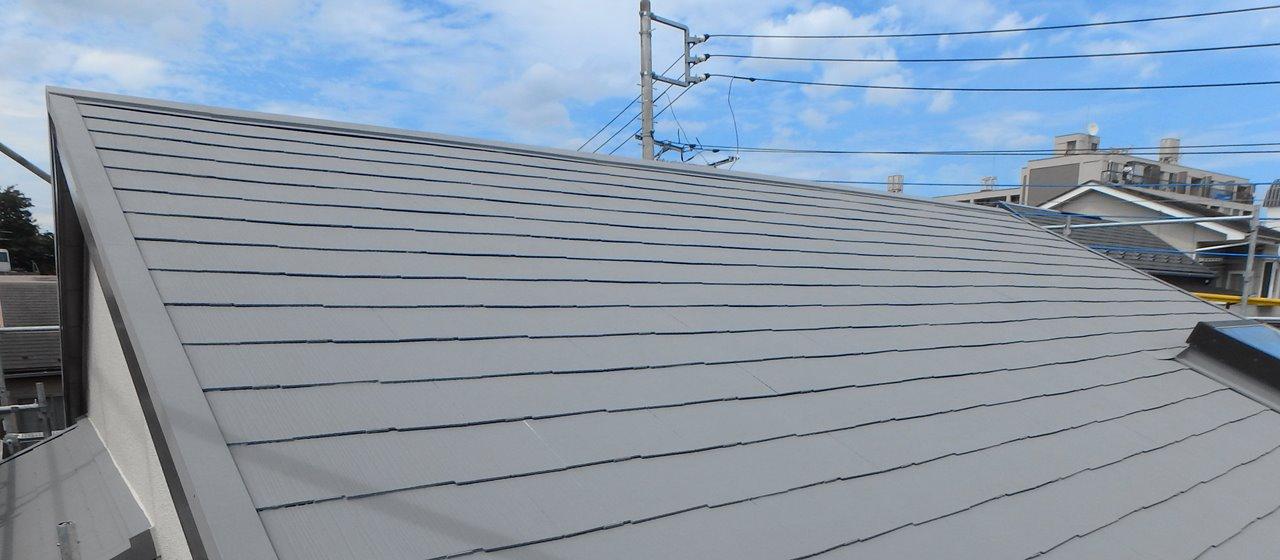 グレーの屋根で遮熱効果が倍増P
