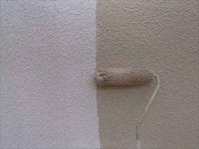 塗装にはSK化研の「水性セラミシリコン」を使用しています。