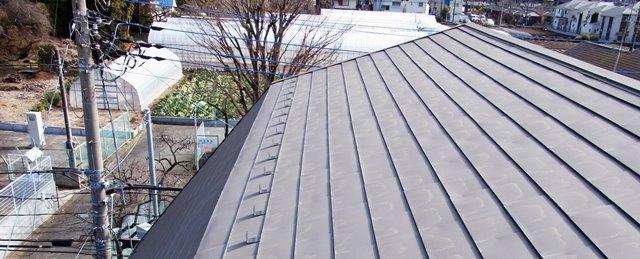 吹き抜け天井の家にはガルバリウム鋼板の屋根が多い