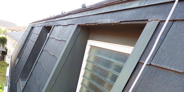 3階の壁は屋根を兼ねている事が多い