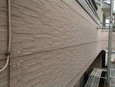外壁は若干塗装が剥げてきている部分もあります。