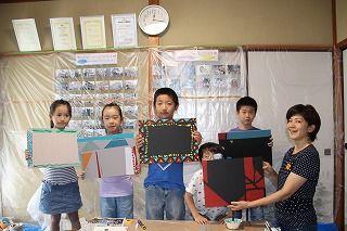 第2回子ども塗装体験ワークショップ1