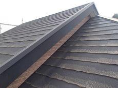 屋根は年数相応の劣化が見られます。