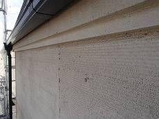 外壁はパネル外壁にジョリパットで仕上げた仕様です。