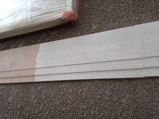 表面の劣化が激しい帯板も下地処理を行います。