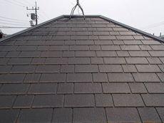 屋根は少し劣化が見られるくらいです。