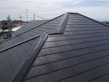 とても美しい屋根となりました。