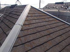屋根は汚れが目立っており、施主様も気にしておられました。
