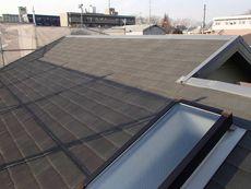 屋根は特に目立った汚れなどは有りませんでした。