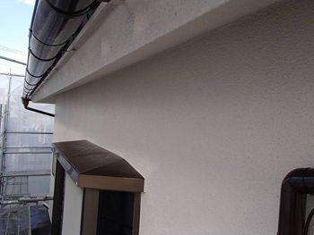 外壁は温かみのある爽やかな色です。