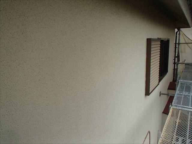 施工前の外壁です。