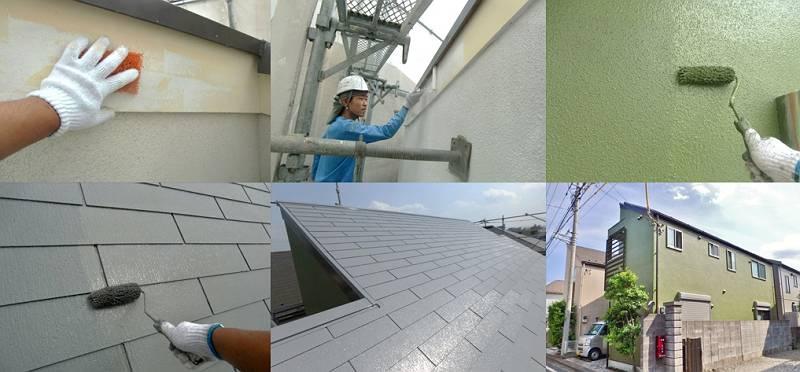 立川市 I様邸 外壁・屋根施工事例(2017年5月31日 完工)