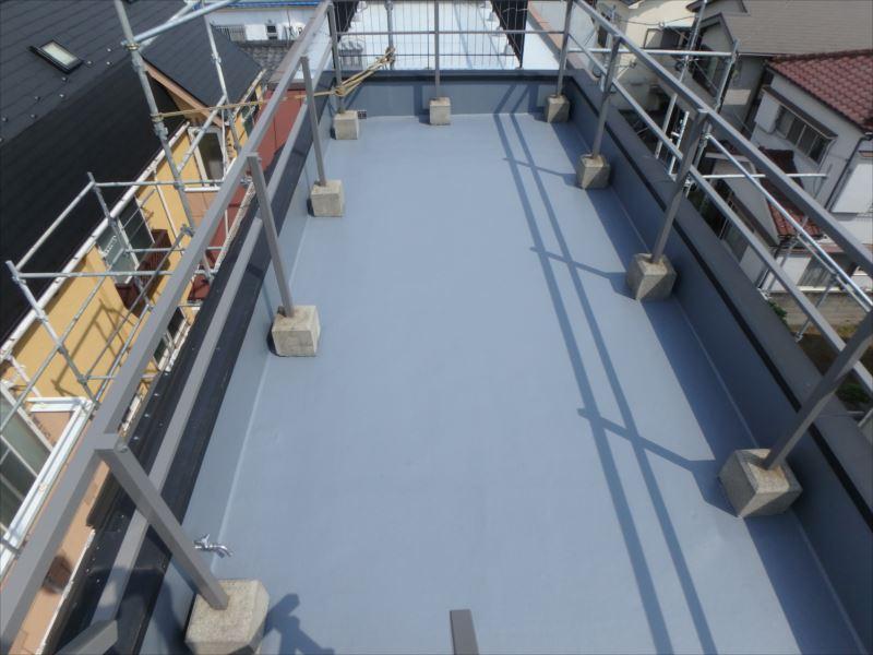 屋上防水塗装(アフター)