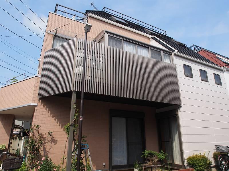 中野区 F様邸 外壁・屋根施工事例