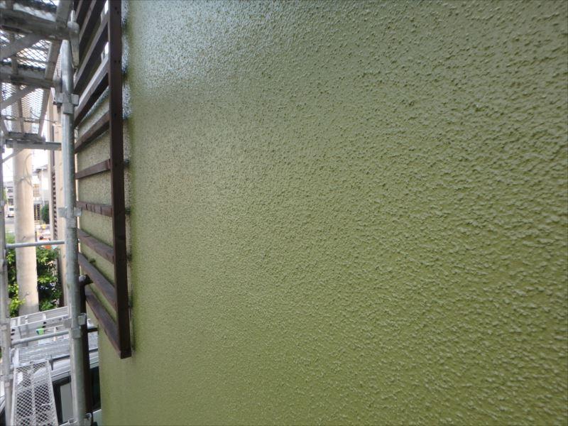 施工後の外壁です。
