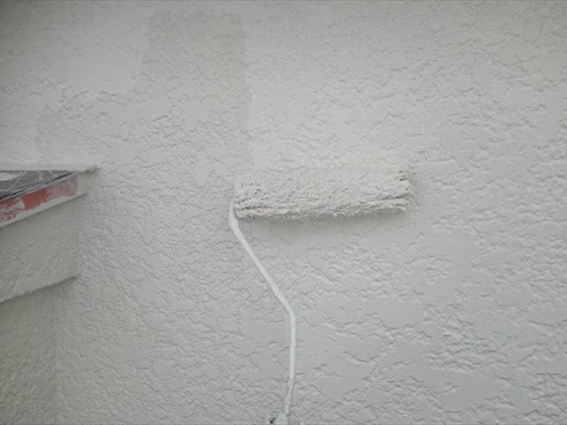 外壁も無事塗装が完成しました。